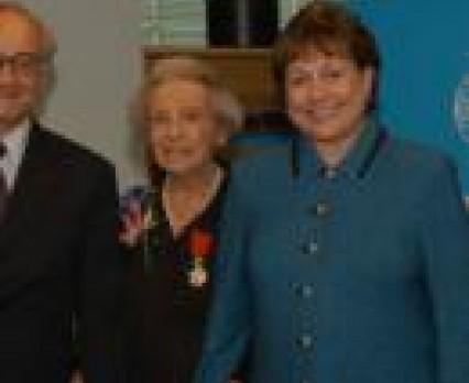 UNICEF gospodarzem ceremonii wręczenia nagrody dla Evy Labouisse - córki Marie Curie Skłodowskiej