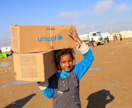 Niemal 50 mln dzieci żyje na obszarach największych kryzysów humanitarnych. UNICEF apeluje o pomoc