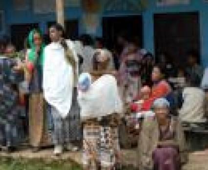 Problem tężca w Etiopii