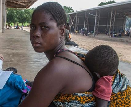 UNICEF Polska - pomoc poszkodowanym na skutek powodzi w Mozambiku