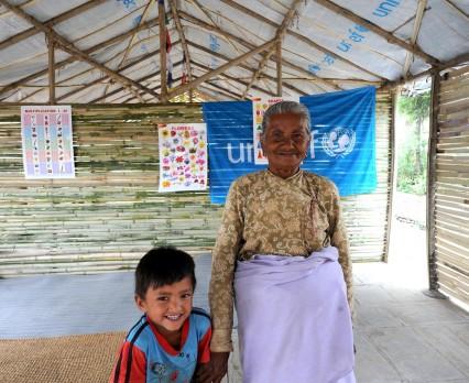 Trzy miesiące po trzęsieniu ziemi dzieci nadal zagrożone