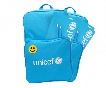 UNICEF Polska - wyprawka do szkoły