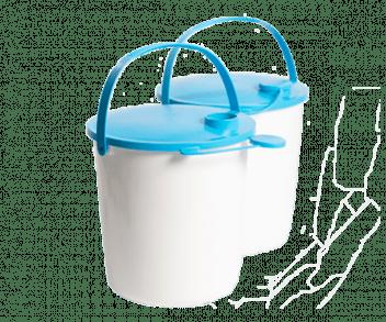 UNICEF Polska - pojemniki na wodę