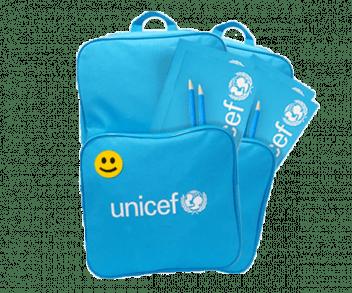 UNICEF Polska - wyprawki do szkoły