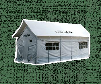 UNICEF Polska - namiot