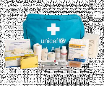 UNICEF Polska - apteczka pierwszej pomocy