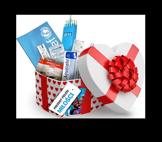 """UNICEF Polska - Zestaw """"Pakiet pełen miłości"""""""
