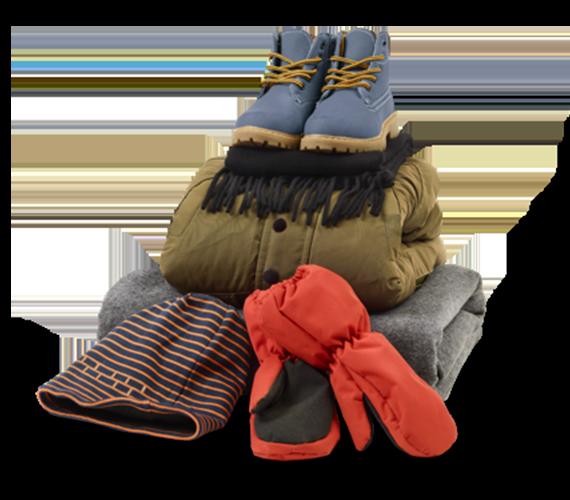 UNICEF - Ubranie zimowe dla dzieci (7 lat)