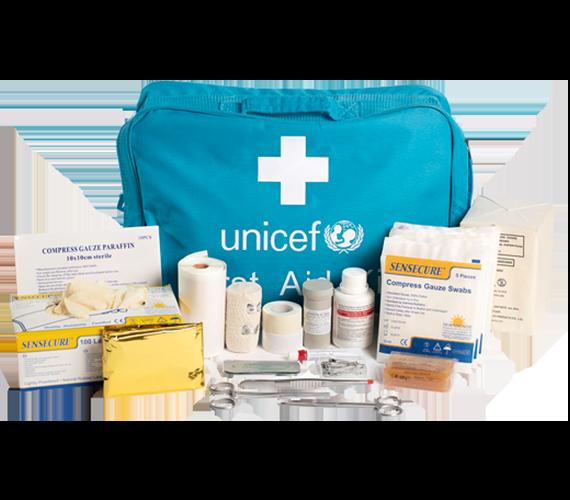 UNICEF - Apteczka pierwszej pomocy