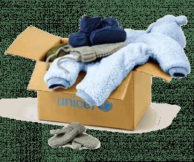 UNICEF - Ubranie zimowe dla niemowląt (0-1 lat)